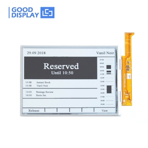 8 inch Large size big parallel e-paper display e-ink screen module GDEW080T5