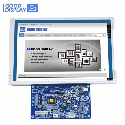 Free Shipping High Brightness VGA Video input 10.4'' TFT LCD Monitor