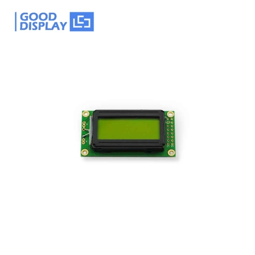 Inventory Promotion! 8x2 Character LCD Display Module YM0802SYG-3 Display type STN-LCD