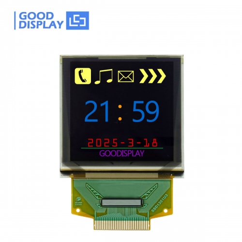 1.5 inch Color OLED Display Panel 128x128 Pixels, GDO0150C